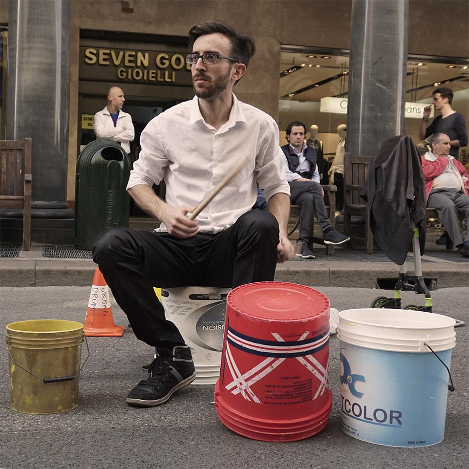 dom urban drummer