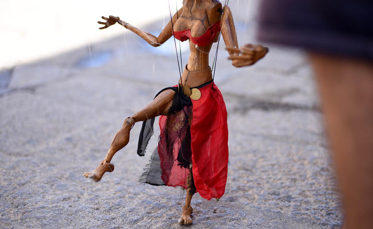 Rasid - The gipsy marionettist